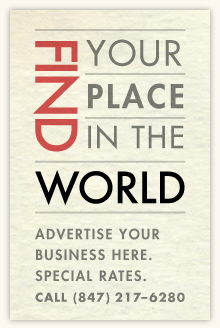 Find your place in the world advertise here